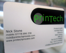 Printech design print company brighton business cards business card printing reheart Choice Image